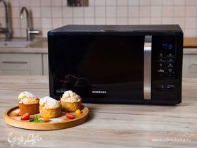 Банановые пудинги к завтраку в микроволновке Samsung