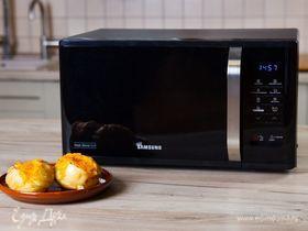 Запеченный картофель в микроволновке Samsung