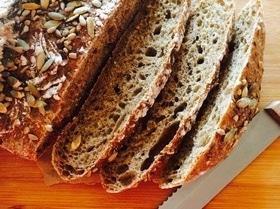 Ржаной хлеб (без замеса)