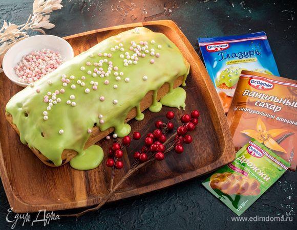 Итальянский панеттоне (рождественский кекс)