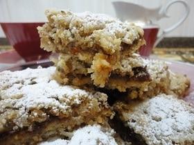 Овсяное печенье с финиковым джемом