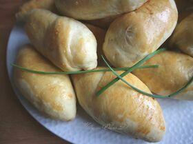 Пирожки с капустой на сдобном тесте