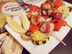 Рыба с креветками по-шанхайски