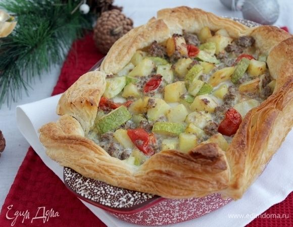 Турецкий закусочный пирог