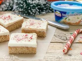 Пряные имбирные квадратики (Gingerbread Blondie)