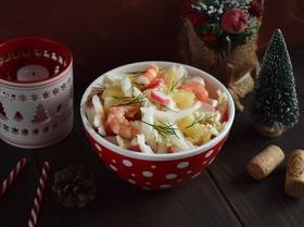 Салат из пекинской капусты и крабовых палочек