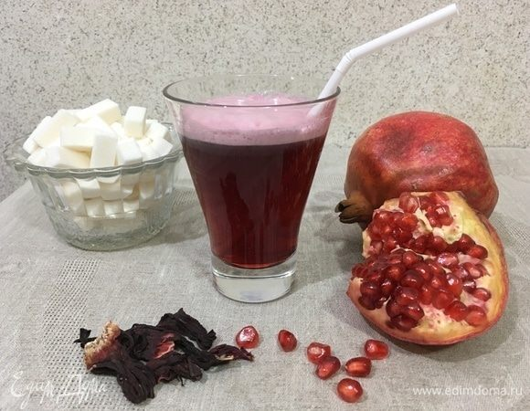 Рубиновый напиток «Здоровье» с гранатовым соком