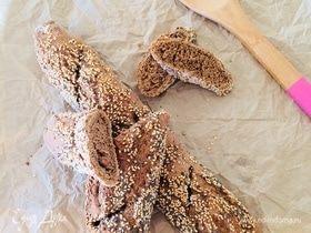 Ароматный ржаной багет