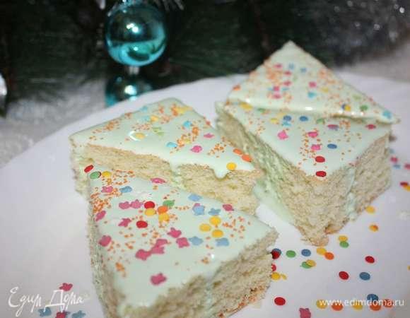 Десерт «Праздничный бисквит»