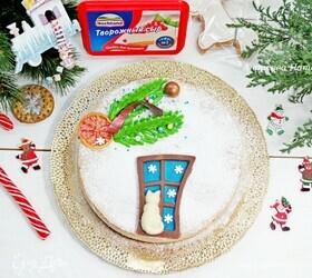Пряный рождественский чизкейк