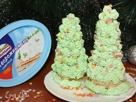Десерт «Елочки»