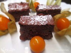 Шоколадно-рисовый пудинг
