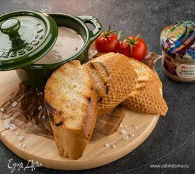 Брускетты с крем-паштетом из тунца
