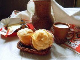 Масляные шафрановые булочки