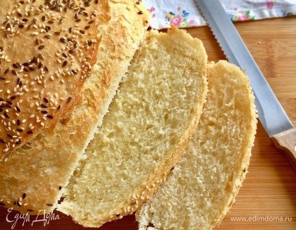 Мягкий хлеб с семолиной