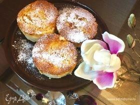 Творожно-рисовые пудинги с ананасовым суфле