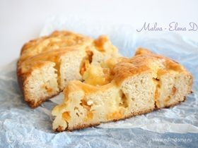 Пирог «Абрикосовые розочки»