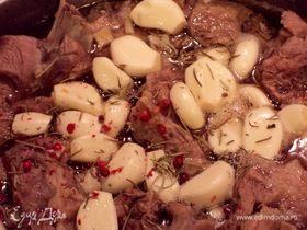Томленое ароматное мясо «ЧесноБар»