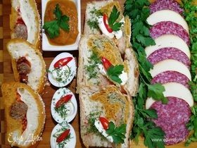 «Веселый» овощной хлеб
