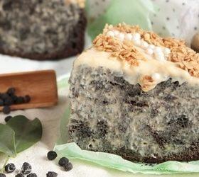 Черемуховый пирог с заварным кремом