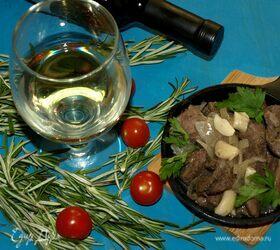Баранина, томленная в десертном вине