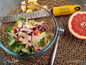 Салат со свеклой и грейпфрутом