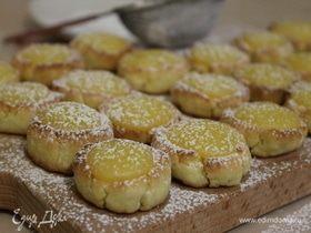 Песочное печенье «Лимонные капельки»