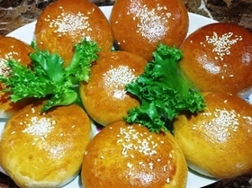 Духовые пирожки с мясом