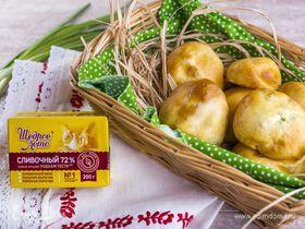 Пирожки с зеленым луком и яйцами