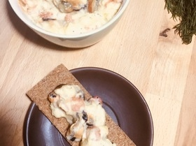 Сырный микс с морепродуктами
