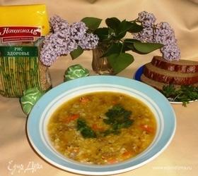 Густой рисовый суп с фаршем