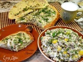 Рыбник и салат