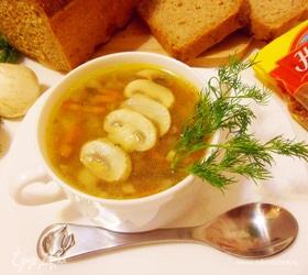 Томленый суп с гречкой