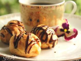 Эклеры с кофейным кремом «Гроза»