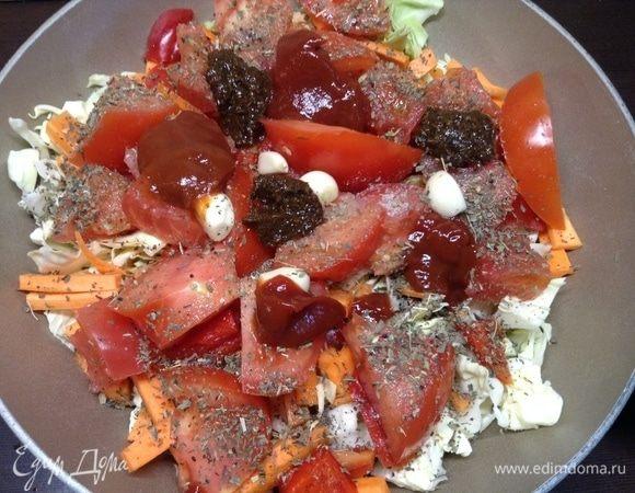 Овощи тушеные «Полубигус»