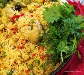 Испанский цыпленок с рисом