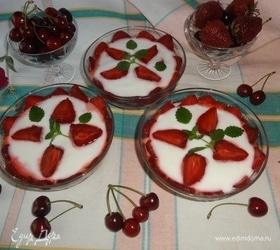Десерт «Летняя фантазия»