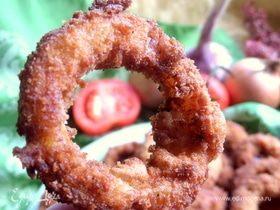Хрустящие луковые кольца