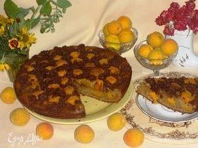 Ржаной пирог с абрикосами