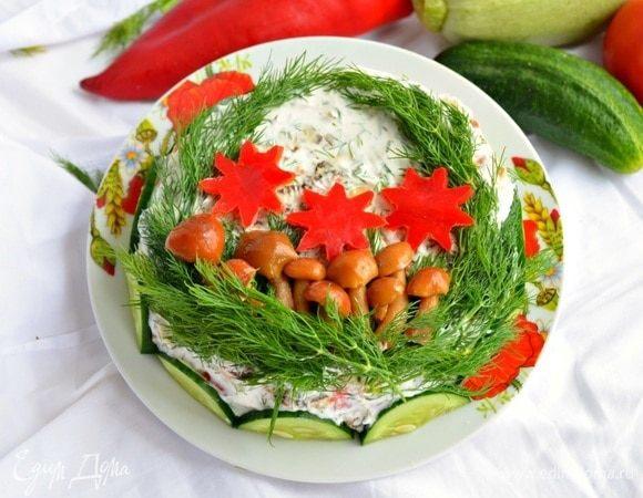 Кабачковый торт «Ассорти»