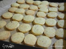 Песочное печенье с фисташками и лимоном