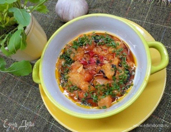 Тосканский хлебный суп (Pappa pomodoro)