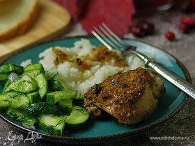 Курица в ямайском маринаде «Джерк»