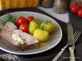 Говядина, фаршированная сыром и болгарским перцем