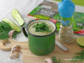 Холодный суп «Лето в Провансе»