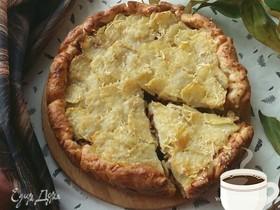Пирог с капустой и картофелем