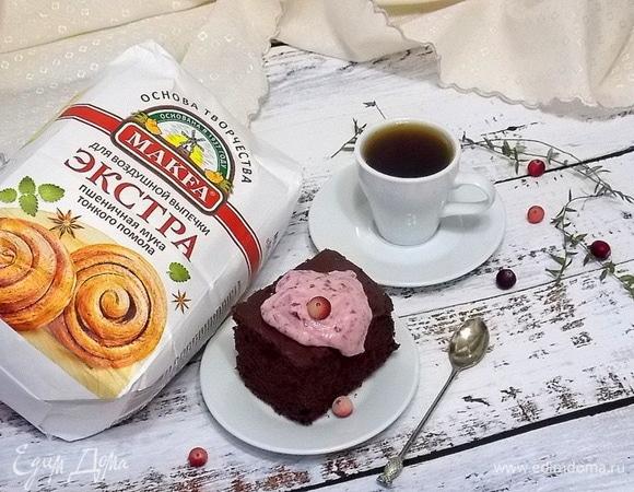 Кекс «Пористый шоколад»