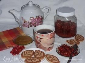 Чай с бальзамом из калины