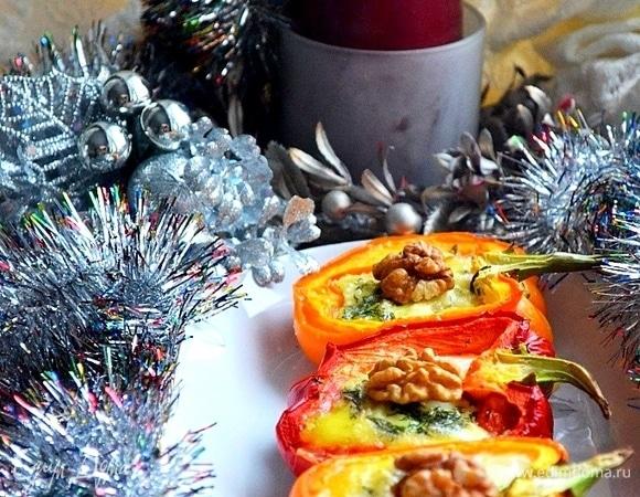 Закуска из цветных перцев