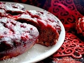Пирог новогодний «Вишня в шоколаде»